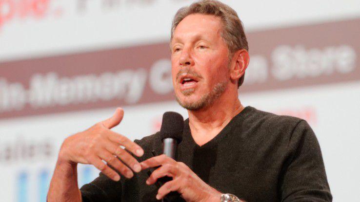 Chairman Larry Ellison sieht Oracle im Cloud-Geschäft auf dem richtigen Weg.