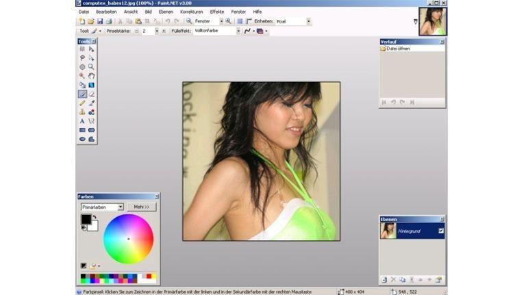 Microsoft Paint, das standardmäßige Bildbearbeitungs-Programm von Windows, ist deutlich schwächer als einige kostenlose Alternativen. Auch die übliche Bildanzeige hält dem Vergleich mit alternativer Freeware nicht stand.