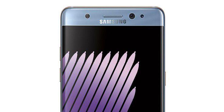 Das Galaxy Note 7 soll mit einem Iris-Scanner ausgestattet sein,