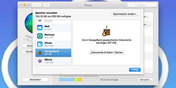 iCloud gratis nutzen: Speicher freiräumen