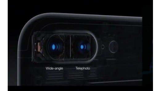 Das iPhone 7 Plus mit zwei Kameras.