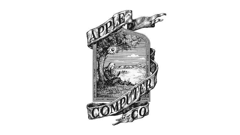 Das Apple-Logo von 1976