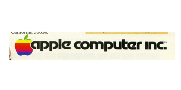 Auch in Broschüren ist das Logo von dem Schriftzug angeschnitten.