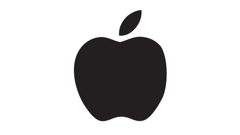 """Ungewohnt und irgendwie falsch: ein """"ganzes"""" Apple-Logo."""