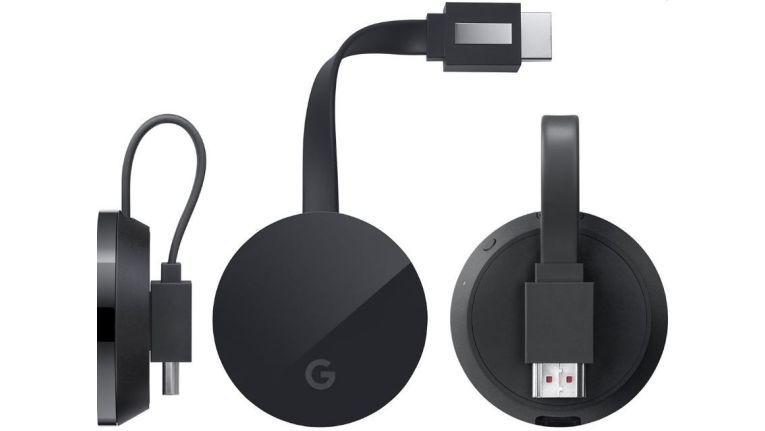 So soll der neue 4K-Chromecast aussehen.