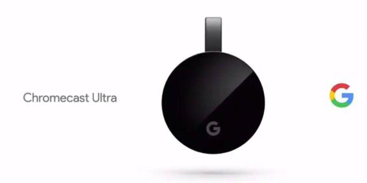 Chromecast Ultra mit 4 K