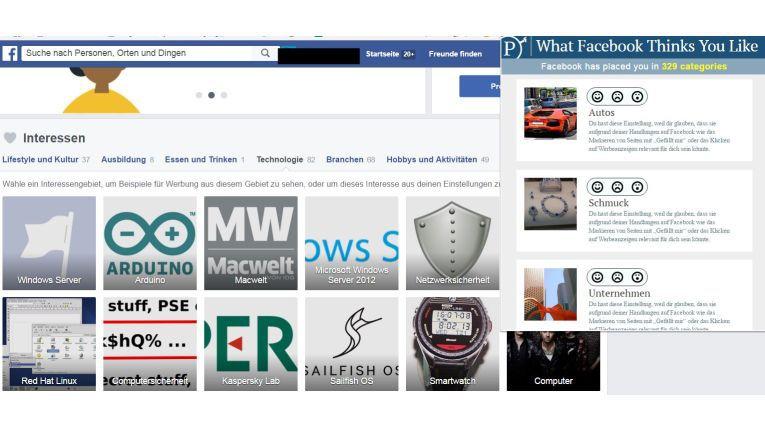 Jetzt testen: Das weiß Facebook über Sie