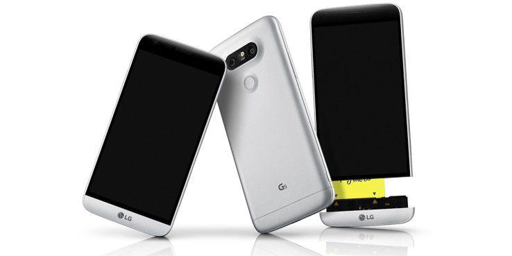 Der Nachfolger des LG G5 (Foto) kommt Berichten zufolge mit einem kompakten All-in-One-Sensor.
