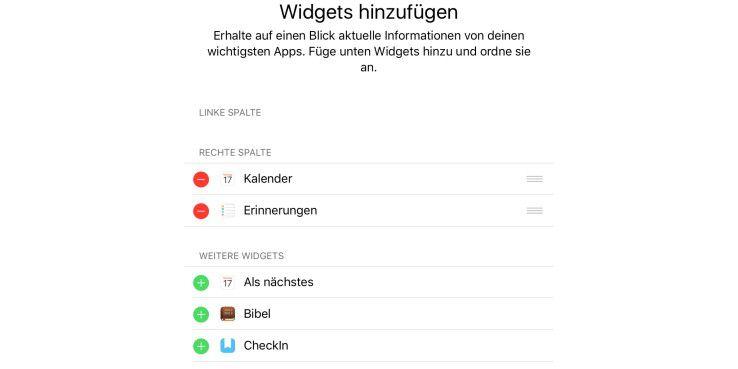 Widgets sind Akkufresser – weg damit!