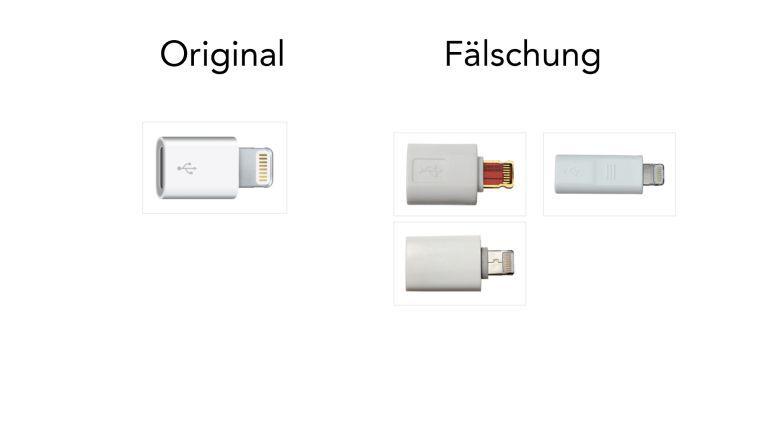 Lightning auf Micro-USB-Adapter