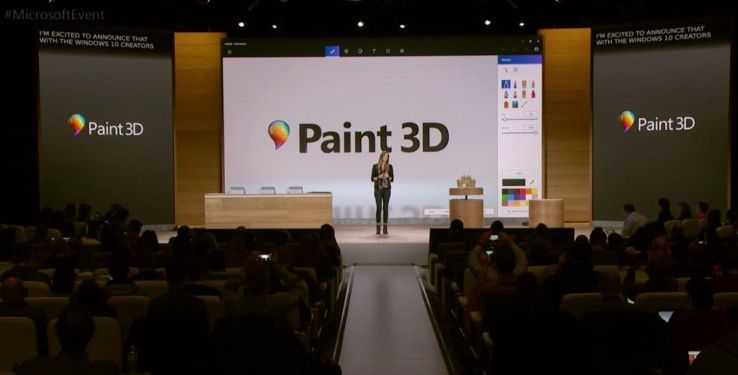Paint 3D kommt mit Windows 10 Creators Update