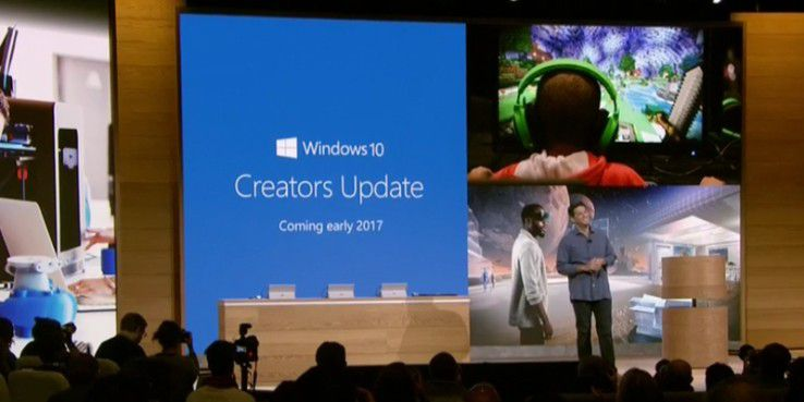 Microsoft hat das WIndows 10 Creators Update angekündigt
