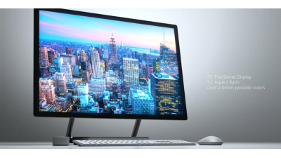 Surface Studio: Microsoft stellt All-In-One-PC vor