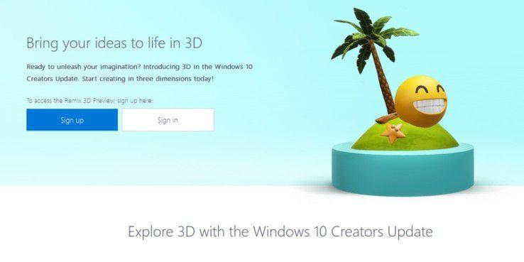 Remix3d.com ist die neue 3D-Community von Microsoft