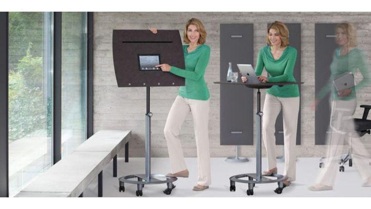 Weniger sitzen, mehr Bewegungsmöglichkeit macht Mitarbeiter zufriedener