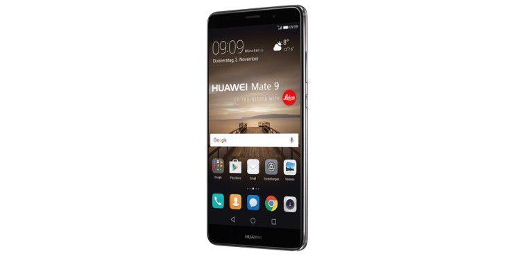 Das Huawei Mate 9 kommt mit einem 5,9 Zoll großen Display mit FHD-Auflösung