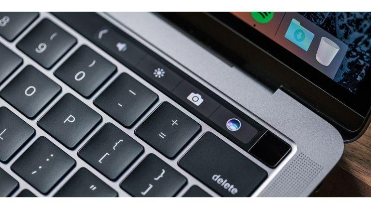 Die Touchbar ist so gestaltet, dass sie als eigene Tasten erscheinen sollen - und nicht als Display.