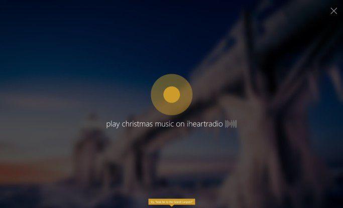 Über Cortana kann nun die Musikwiedergabe gesteuert werden