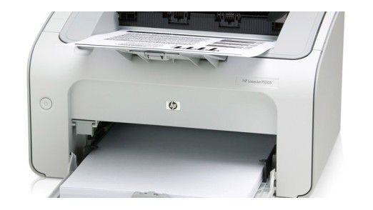 Netzwerkfähige Drucker können ein Sicherheitsrisiko sein