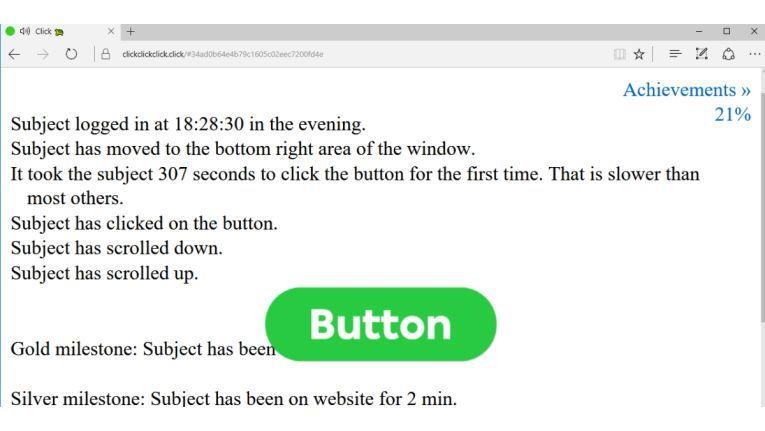 Die Website https://clickclickclick.click zeigt Ihnen, was eine Website heute alles über Sie herausfinden kann. Schalten Sie vor dem lehrreichen Besuch die Lautsprecher ein.