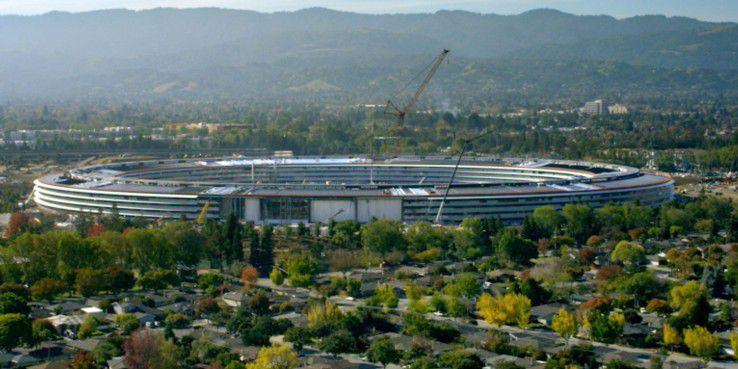 Der Apple Park in Cupertino ist bezugsfertig