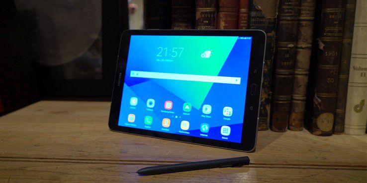 Das Samsung Galaxy Tab S3 kommt mit S Pen und Android 7.0