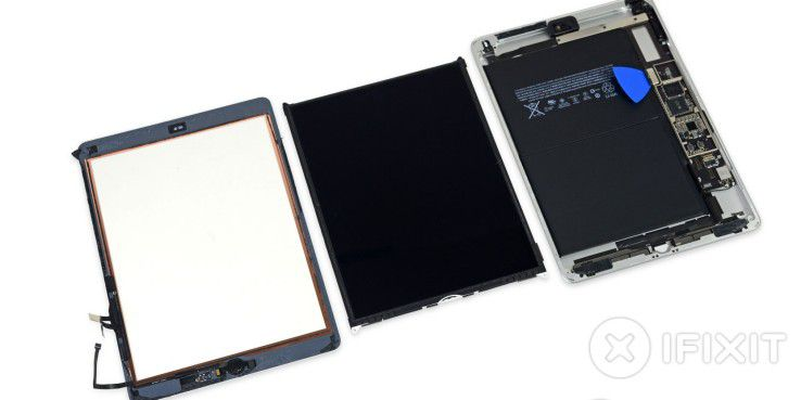 teardown von ifixit das neue ipad ist wie das erste ipad air. Black Bedroom Furniture Sets. Home Design Ideas