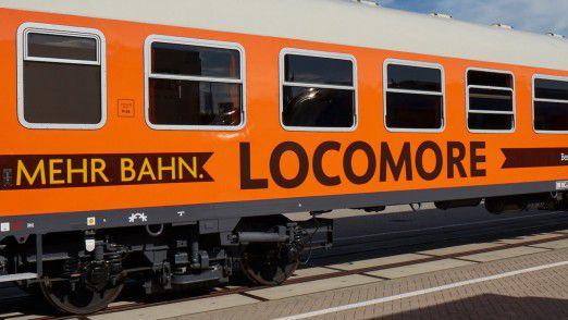 Den Locomore-Zug betreibt das tschechische Unternehmen Leo Express.