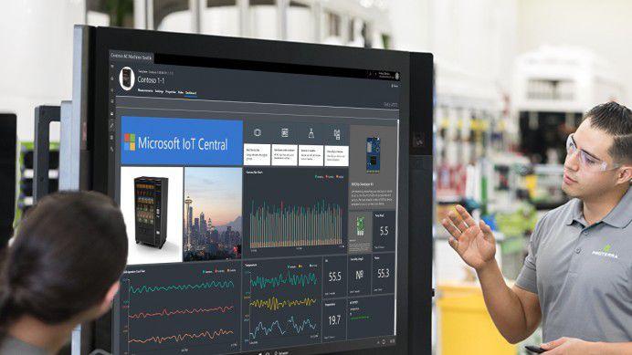 Mit IoT Central will Microsoft die Komplexität beim Einstieg in das Internet der Dinge (IoT) verringern.