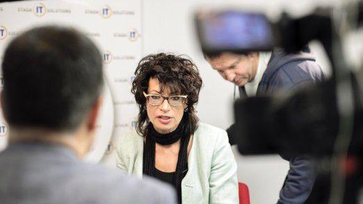 Das serbische Fernsehen berichtet bereitwillig über Stada IT Solutions. Zu gerne hätten die Belgrader mehr solche Erfolgsgeschichten.