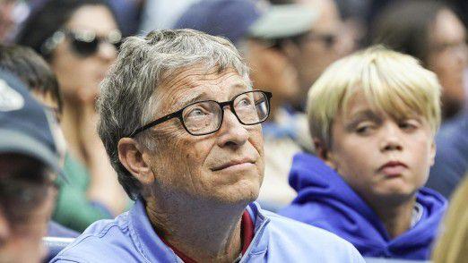 Bill Gates äußert sich kritisch über den Politik-Stil von Donald Trump.