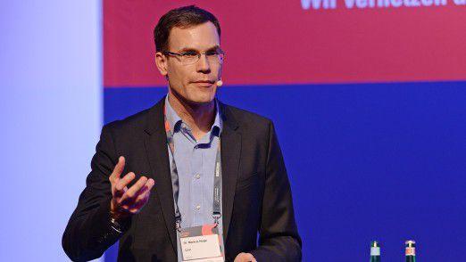 Referent Markus Noga, VP Machine Learning bei SAP, sprach auf den Hamburger IT-Strategietagen 2018.