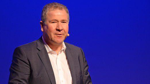 BMW CIO Klaus Straub auf den Hamburger IT-Strategietagen.