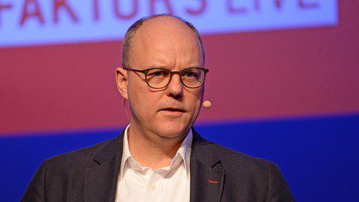 """Holger Ewald: """"Meinen Leuten sage ich an dieser Stelle immer gerne, dass sie durchaus die gesamte Firma verstehen dürfen."""""""