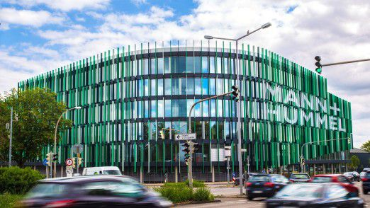 Mann+Hummel Konzernzentrale in Ludwigsburg