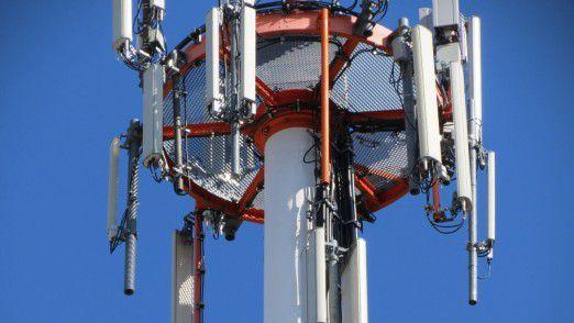 Künstliche Intelligenz hilft auch bei der Planung der Wartungsarbeiten am Mobilfunkmast.