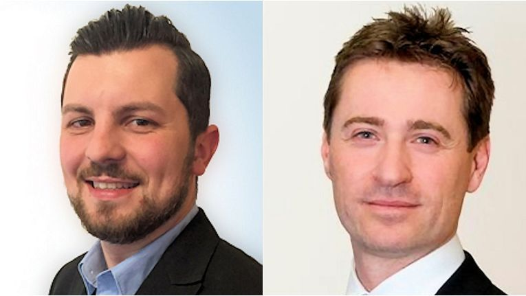 Markus Gröller (links) als Sales Engineer und Wolfgang Lauer als Channel Account Executive sollen bei der österreichischen Sophos für frischen Wind bei den Umsätzen sorgen.