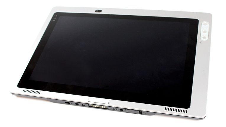 Leicht und schlank, dabei robust und vielfältig wie ein Industrie-Tablet. So bewirbt Concept International seinen semi-rugged Tablet-PC FuturePad 10SRM.