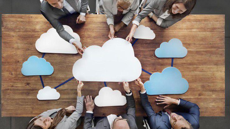 Immer mehr Unternehmen setzen auf die gleichzeitige Nutzung mehrerer Clouds von verschiedenen Providern.