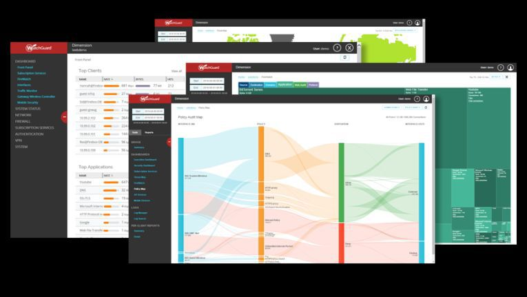 Die umfangreichen Visualisierungsmöglichkeiten von WatchGuard Dimension zeigen auf, wie und wo welche Angriffsversuche stattgefunden haben. Zudem unterstützen die intuitiven Auswertungen das Seabix-Team im Rahmen des Traffic Managements.
