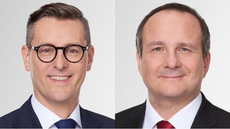 Wechsel an der Ingram-Deutschlandspitze: Alexander Maier (links) löst Ernesto Schmutter ab.