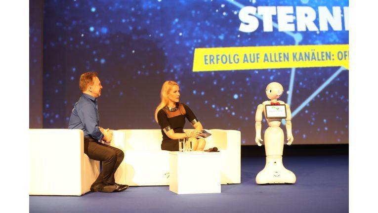 Euronics-Vorstandssprecher Benedict Kober beim Kongress 2018 in Leipzig