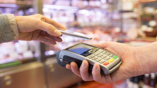 Mobiles Bezahlen befindet sich auf dem Vormarsch.