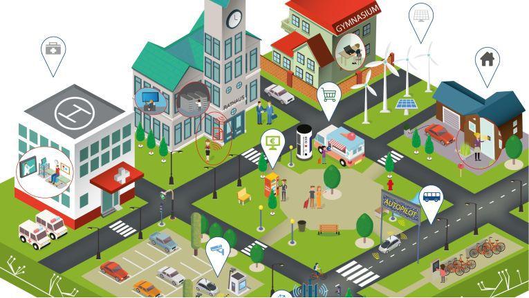 Smart Cities sollen das Leben einfacher machen - und dem Handel neue Chancen ermöglichen