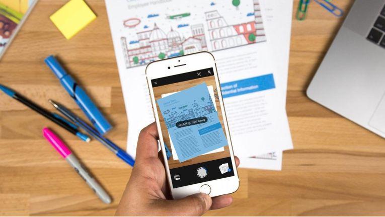Adobe Scan auf dem iPhone