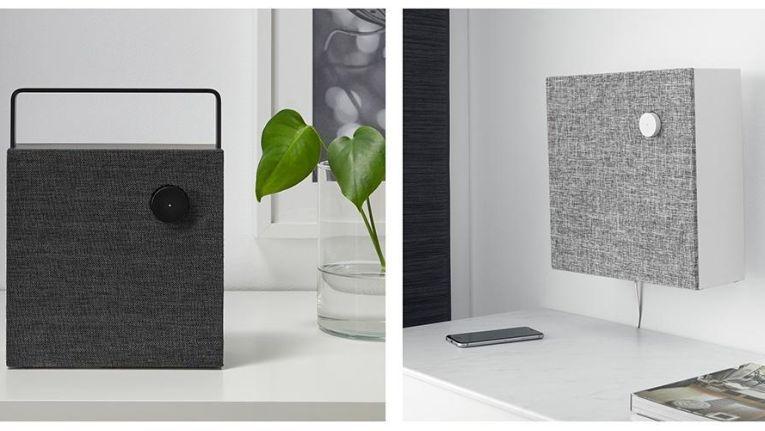 Die Ikea Lautsprecher sind in zwei Größen erhältlich.