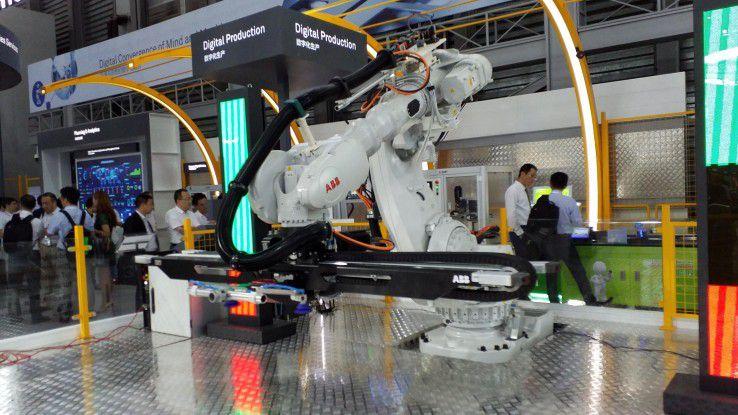 Ein anderer Partner bei der Digitalen Produktion ist ABB.
