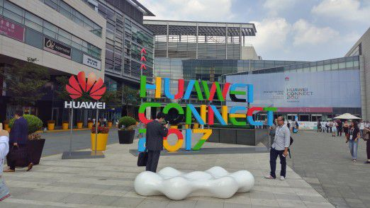 Über 20.000 Besucher kamen zur Kongressmesse Huawei Connect 2017 nach Shanghai.