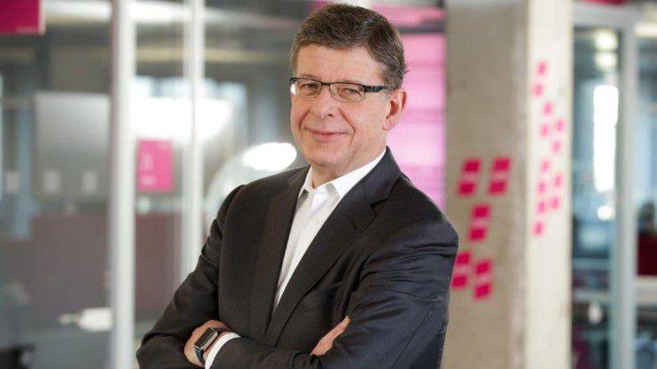 Reinhard Clemens, Telekom-Vorstandsmitglied und T-Systems-Chef verlässt den Konzern zum Jahresende.