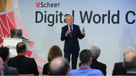 """BPM-Pionier August-Wilhelm Scheer: """"Mit Robotic Process Automation rollt die nächste große Welle nach den ERP-Systemen in die Unternehmen."""""""